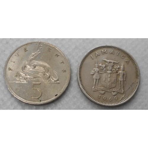 JAMAICA 5 Cents 1969