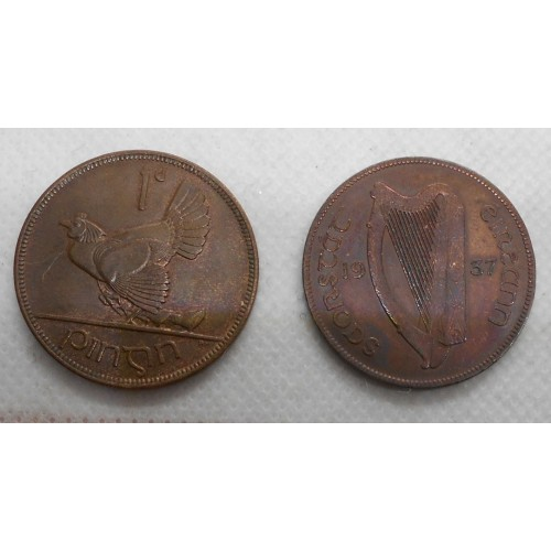 IRELAND 1 Penny 1937