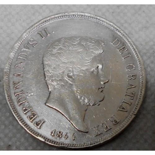 FERDINANDO II PIASTRA 1844 AG