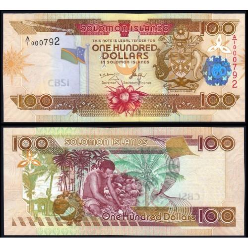 SOLOMON ISLANDS 100 Dollars...