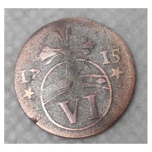 GOSLAR 6 Pfennig 1715 AG