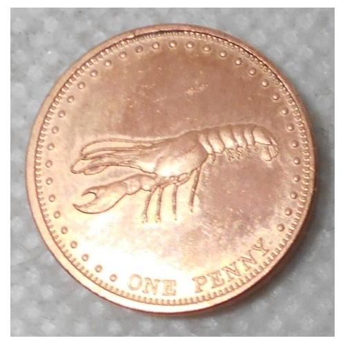 TRISTAN DA CUNHA 1 Penny 2008