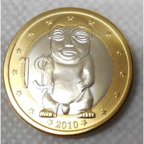 COOK ISLANDS 1 Dollar 2010...