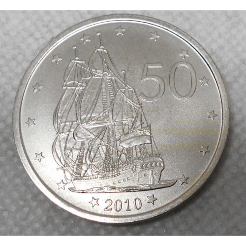 COOK ISLANDS 50 Cents 2010...