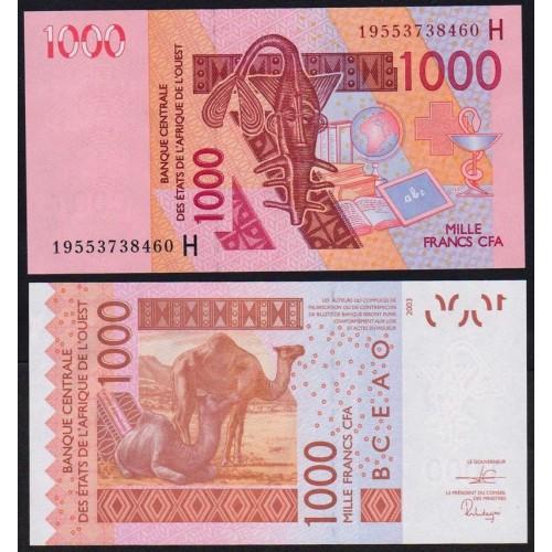 NIGER (W.A.S.) 1000 Francs...