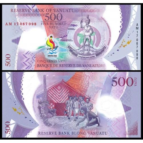 VANUATU 500 Vatu 2017...