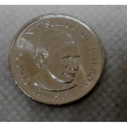 PANAMA 5 Centesimos 2008...