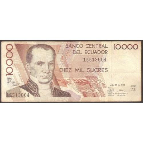ECUADOR 10.000 Sucres...