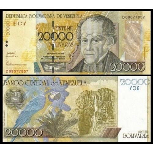 VENEZUELA 20.000 Bolivares...