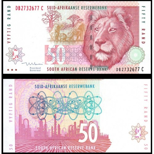 SOUTH AFRICA 50 Rand 1992