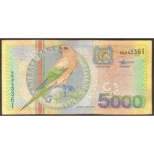 SURINAME 5000 Gulden 2000