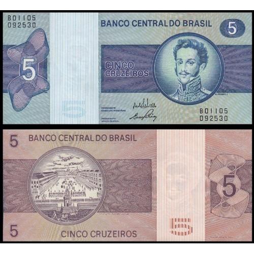 BRAZIL 5 Cruzeiros 1970