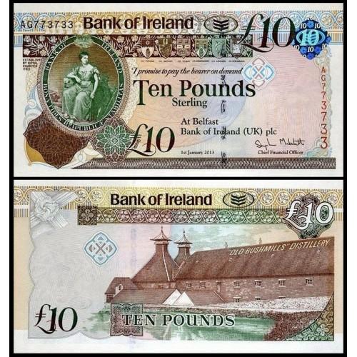 NORTHERN IRELAND 10 Pounds...