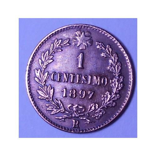 1 centesimo 1897
