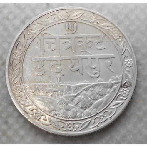 MEWAR (INDIA) 1/2 Rupee...