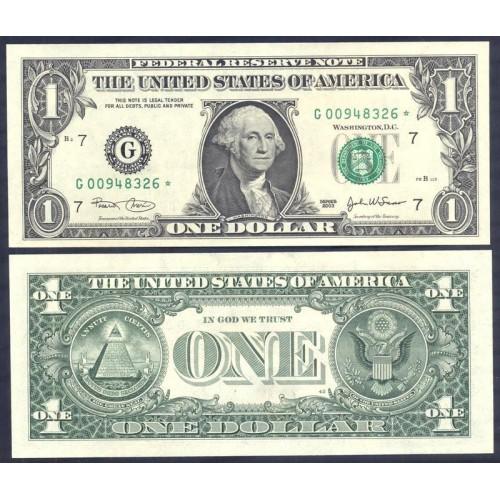 USA 1 Dollar 2003 Serie G...