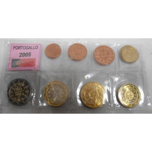 PORTUGAL Set coins 2005 Euro