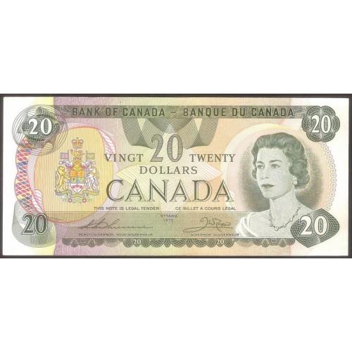 CANADA 20 Dollars 1979