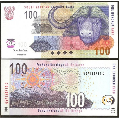 SOUTH AFRICA 100 Rand 2005