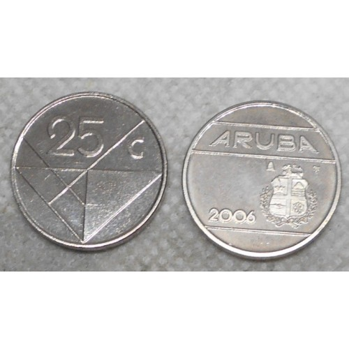 ARUBA 25 Cents 2006