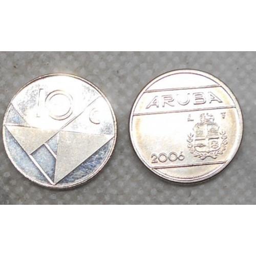ARUBA 10 Cents 2006
