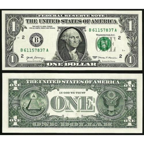 USA 1 Dollar 2017 Series B