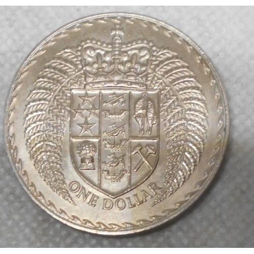 NEW ZEALAND 1 Dollar 1971