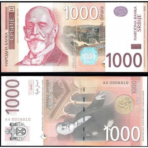 SERBIA 1000 Dinara 2006 Low...