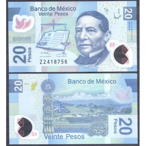 MEXICO 20 Pesos 2016 Serie...