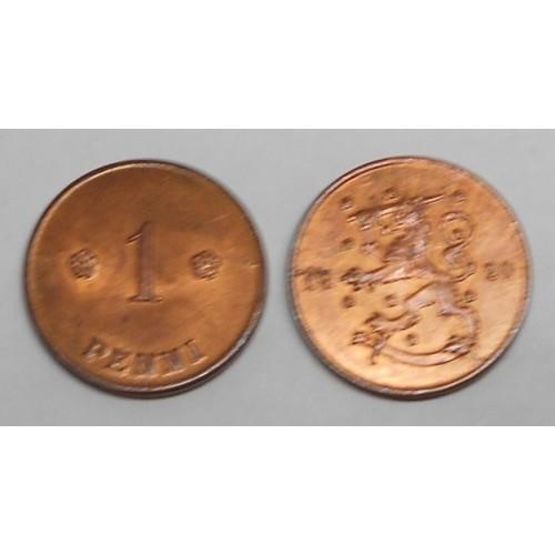 FINLAND 1 Penni 1920