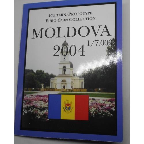 MOLDOVA Set 2004 Euro...