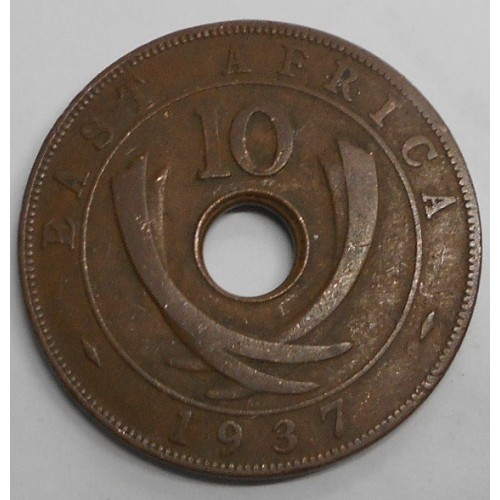 EAST AFRICA 10 Cents 1937