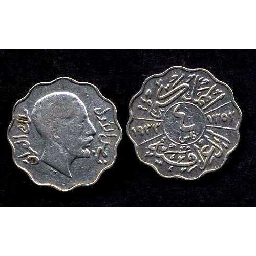 IRAQ 4 Fils 1933