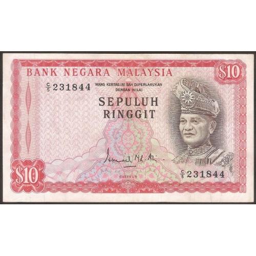 MALAYSIA 10 Ringgit 1972