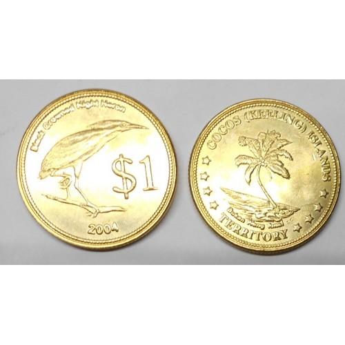COCOS ISLANDS 1 Dollar 2004