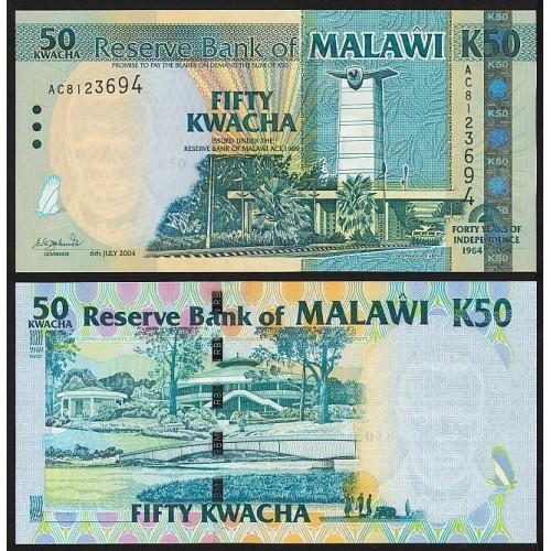 MALAWI 50 Kwacha 2004...