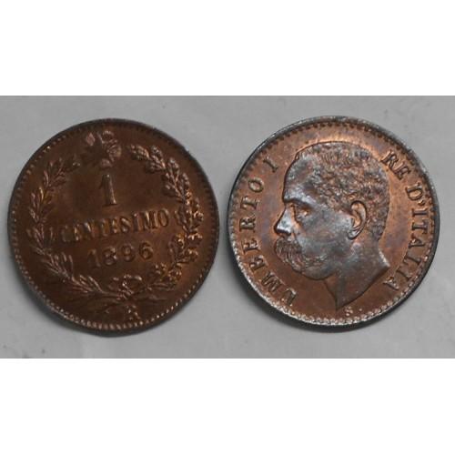 1 Centesimo 1896