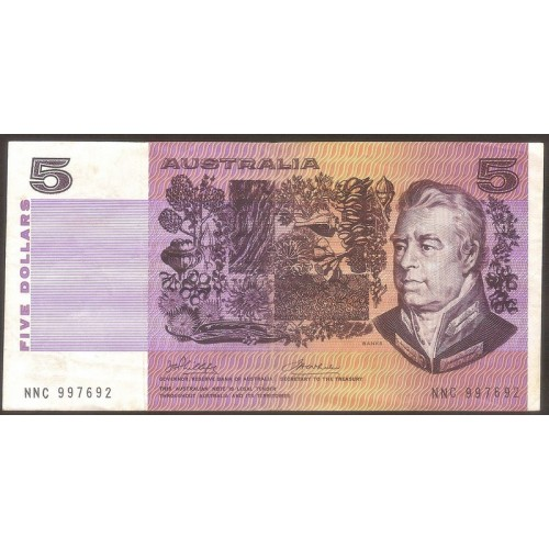 AUSTRALIA 5 Dollars 1974