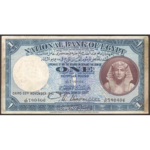 EGYPT 1 Pound 1941
