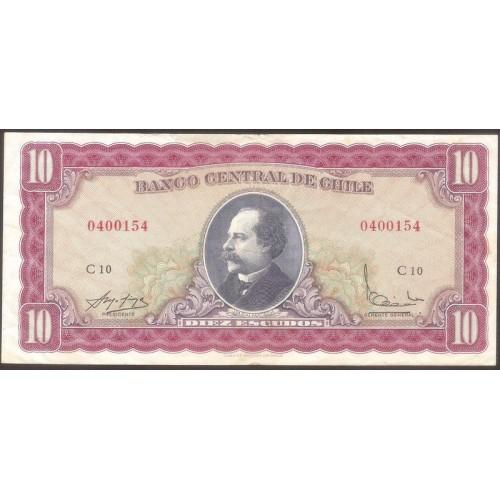 CHILE 10 Escudos 1962
