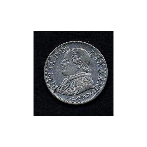 PIO IX 10 Soldi 1868 A.XXII