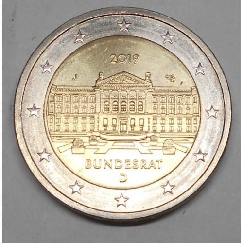 GERMANY 2 Euro 2019J Bundesrat