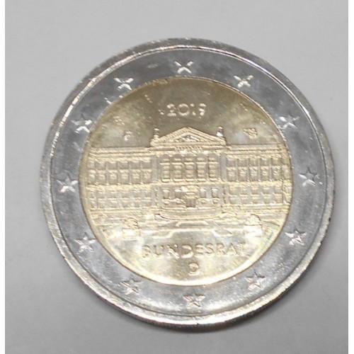 GERMANY 2 Euro 2019F Bundesrat