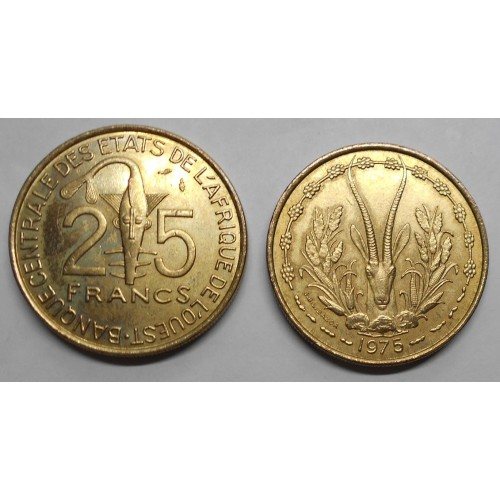 WEST AFRICAN STATES 25...