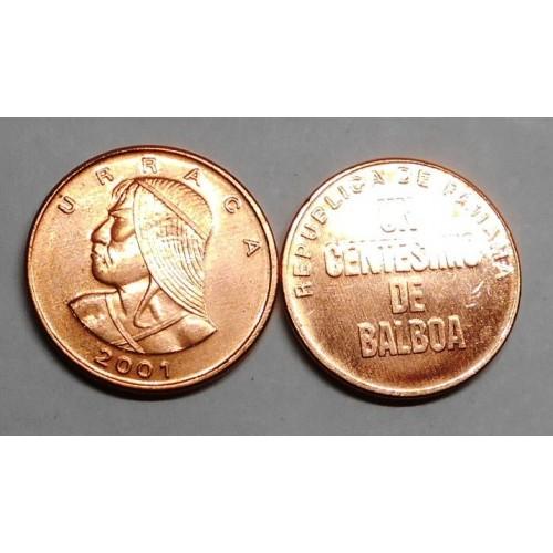 PANAMA 1 Centesimo 2001