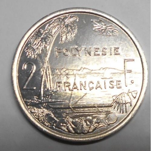 FRENCH POLYNESIA 2 Francs 2004