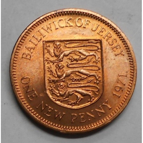 JERSEY 1 New Penny 1971