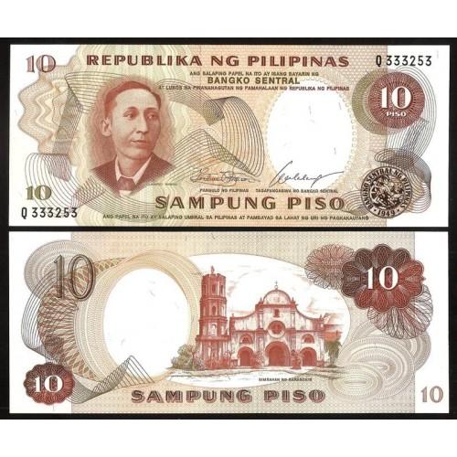 PHILIPPINES 10 Piso 1969