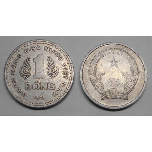 VIET NAM 1 Dong 1976 rare