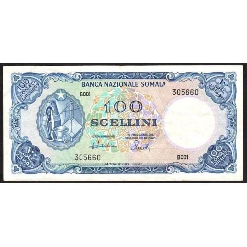 SOMALIA 100 Scellini 1968